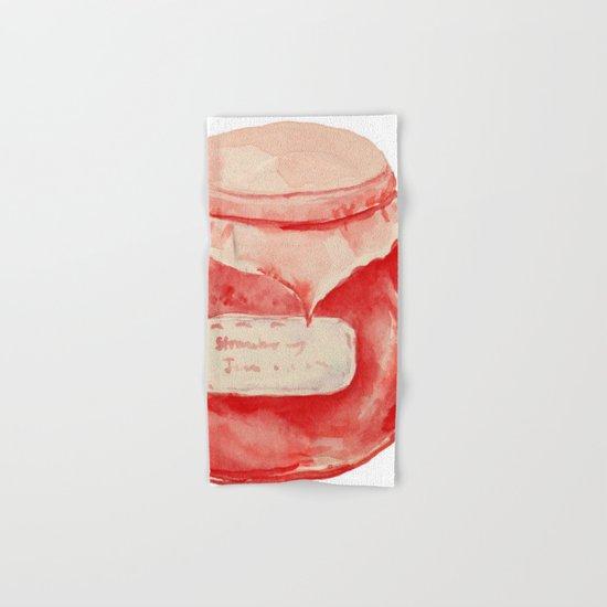 Strawberry Jam Hand & Bath Towel