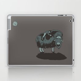 Muskox by moonlight Laptop & iPad Skin