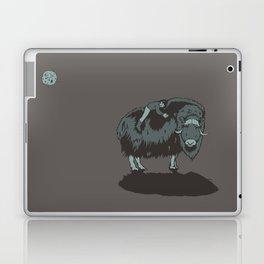 Muskox by moonlight Laptop & iPad Skin