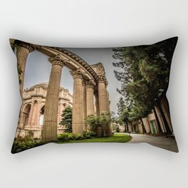 curves for lines - palace of fine arts Rectangular Pillow