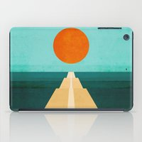 road iPad Cases featuring The Road Less Traveled by Picomodi