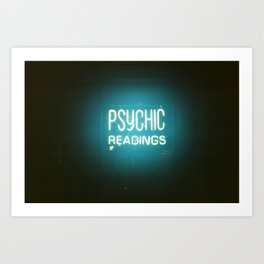 Psychic Readings Art Print