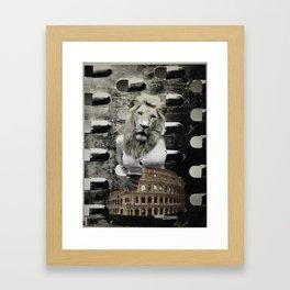 When In Rome Framed Art Print