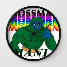 MossMan Mania Wall Clock