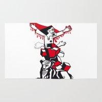 revolution Area & Throw Rugs featuring revolution by Chuchuligoff