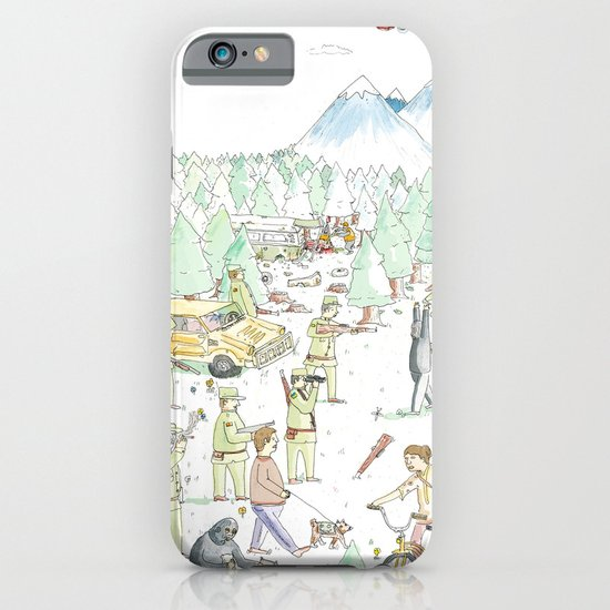The Woods iPhone & iPod Case