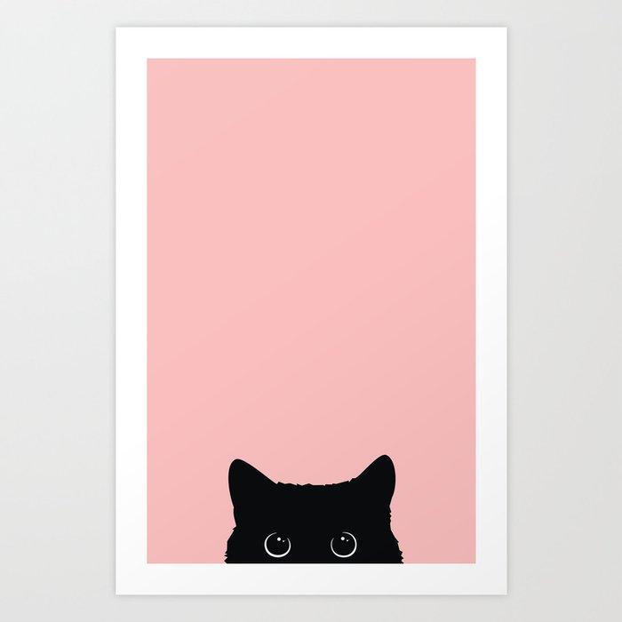 Black Cat Kunstdrucke