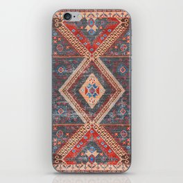 (N16) Boho Moroccan Oriental Artwork for Rustic and Farmhouse Styles. iPhone Skin