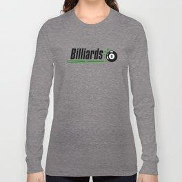 Billiard #society6 Long Sleeve T-shirt