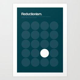 Reductionism Art Print