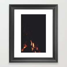 FIRE 4 Framed Art Print