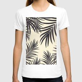 Palm Leaves Pattern Summer Vibes #8 #tropical #decor #art #society6 T-shirt
