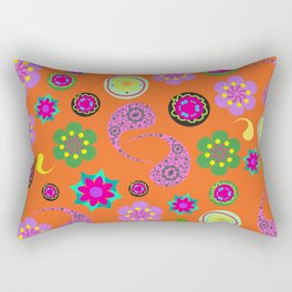 Paisley background Rectangular Pillow
