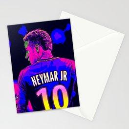Neon Neymar Stationery Cards