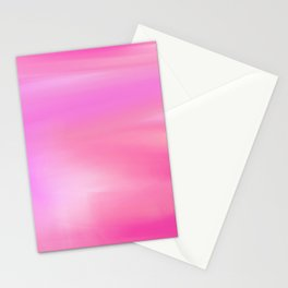 Pink Sunset Stationery Cards