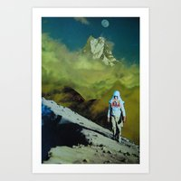 onward Art Prints featuring Onward by John Turck