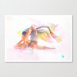 Yoga me Love Canvas Print