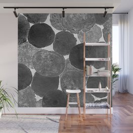 Abstract Gray Wall Mural