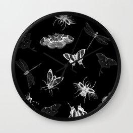 Entomologist Nightmares Wall Clock