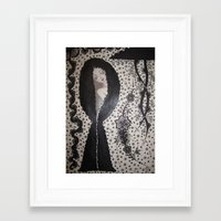 charmaine olivia Framed Art Prints featuring Charmaine by Rossella Inghilleri