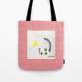 Shapes From Uncertainty and Poor Color Management 2 Tote Bag