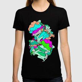 Sleepy Heads - Emerald Green T-shirt