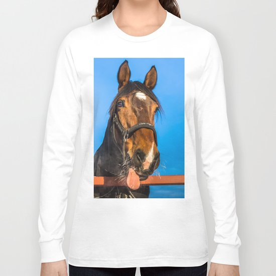 Horse Albert Long Sleeve T-shirt