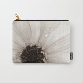 Flower with droplets Carry-All Pouch