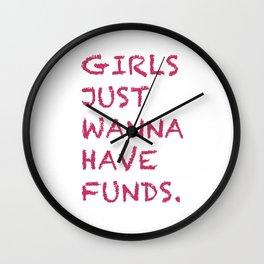 Girls Wall Clock
