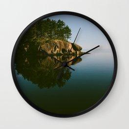 Matia Island, WA Wall Clock