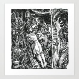 Inktober 2018: Precious Art Print