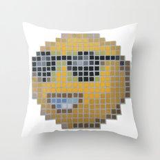 Emoticon Cool Throw Pillow