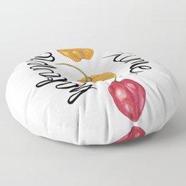 Habanero time Floor Pillow