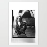 friday Art Prints featuring Friday by Rachel Dorothy