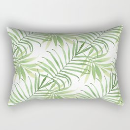 Tropical Branches Pattern 05 Rectangular Pillow