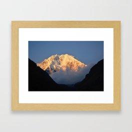 Salkantay Sunset Framed Art Print