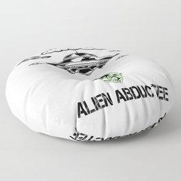 Alien Abductee Funny UFO Extraterrestrial Nerd Believer Floor Pillow