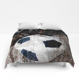 The soccer ball Comforters