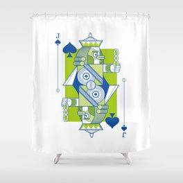 Delirium Jack of Spades Shower Curtain