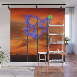 Peace Pigeon Stand - The Copy is a Hommage Wall Mural