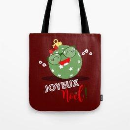 Boule de Noël (verte pastel) Tote Bag