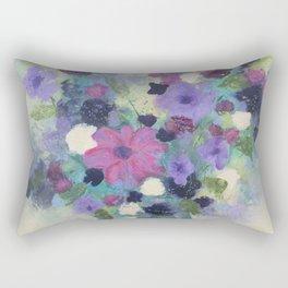 Spring Flower Bouquet Rectangular Pillow