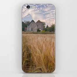 Wheatfields To The Church iPhone Skin