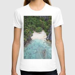 Isolated Beach T-shirt