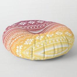 Ombré Navajo Floor Pillow