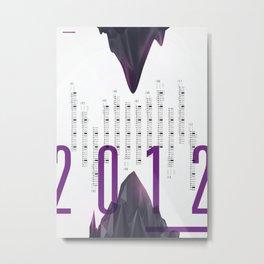 Twenty Twelve Metal Print