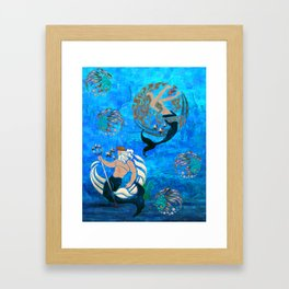 Myth of the Sea New Age Framed Art Print