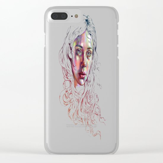 Giving Up My Echoes Clear iPhone Case