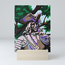 General Oglethorpe Mini Art Print