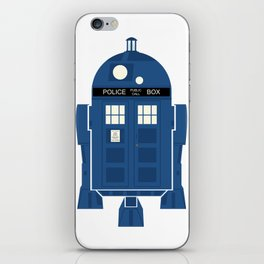 R2-TARDIS iPhone Skin